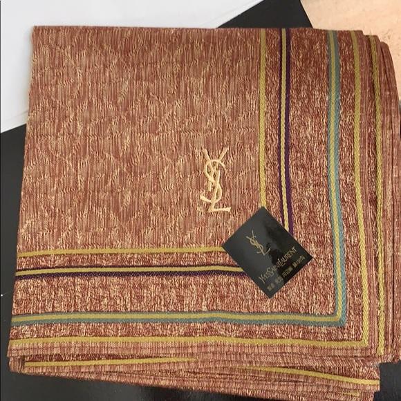 Yves Saint Laurent Accessories - Vintage Yves Saint Laurent Kerchief in Box